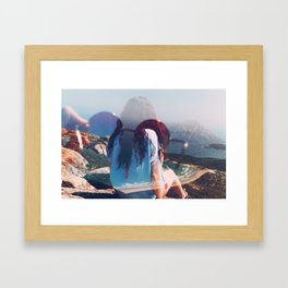 Views Framed Art Print