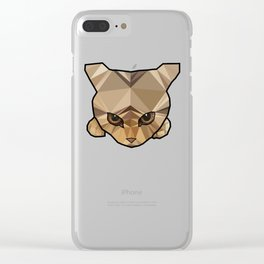 Kitten Clear iPhone Case