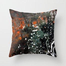 Deepest Cave Throw Pillow