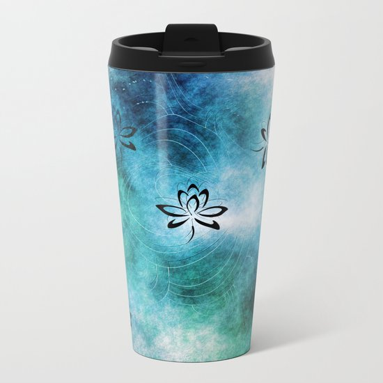 Pattern 2017 008 Metal Travel Mug