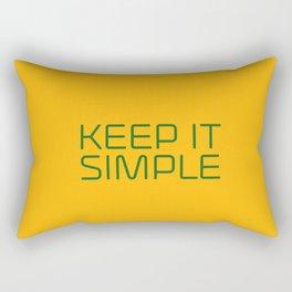 KEEP IT SIMPLE Rectangular Pillow