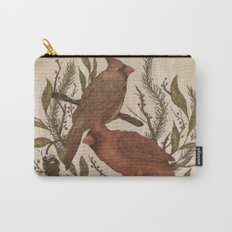 Wintery Cardinals Carry-All Pouch