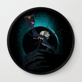 The facehugg of life Wall Clock