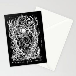 Forest of dark dreams Stationery Cards