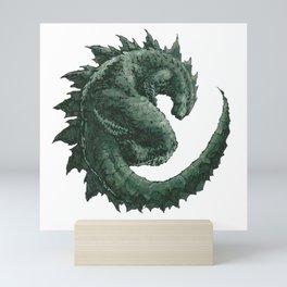 Godzilla Mighty Kaiju Mini Art Print