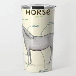 Anatomy of a Horse Travel Mug