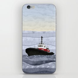 Tugboat iPhone Skin