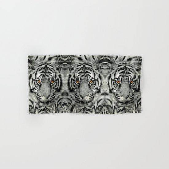 TIGER PAW-TRAIT Hand & Bath Towel