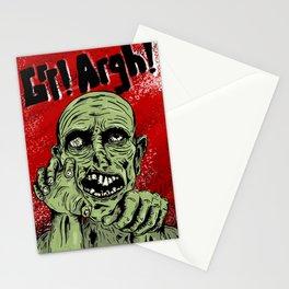 Grr! Argh! Zombie Stationery Cards