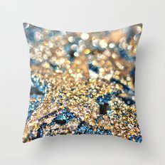 Starry Wishes and Bokeh Dreams... Throw Pillow