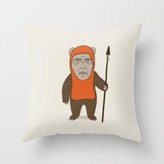 Ewoken Throw Pillow