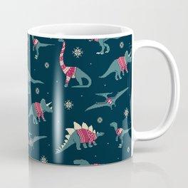 Dinos In Sweaters Coffee Mug