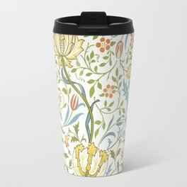 William Morris Flora Travel Mug