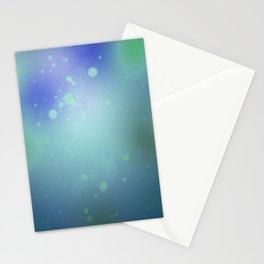 Green Splatter Stationery Cards