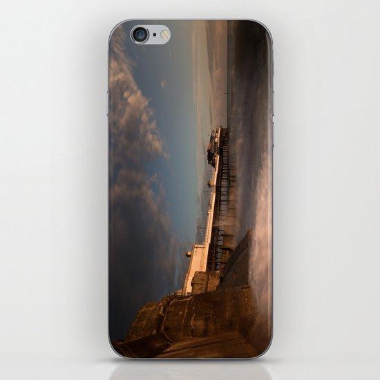 Cromer Pier at dawn iPhone & iPod Skin