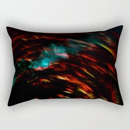 Abstract goldfish Rectangular Pillow