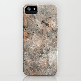 Black and Bronze Abstract iPhone Case