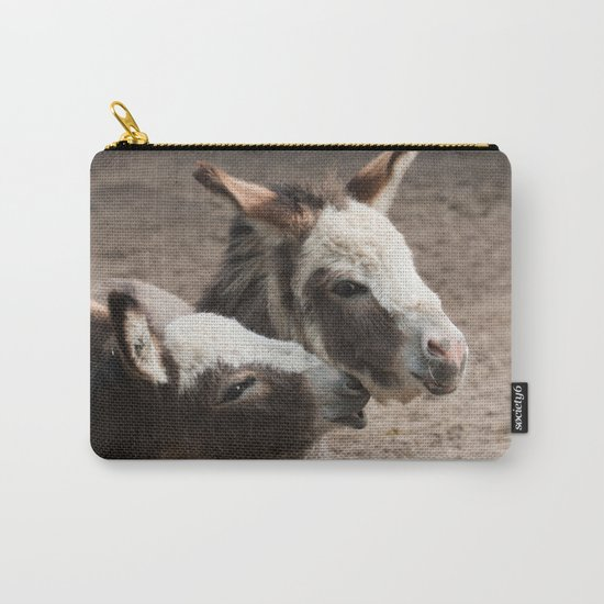 The donkeys Carry-All Pouch