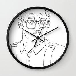 Nerdlander Wall Clock