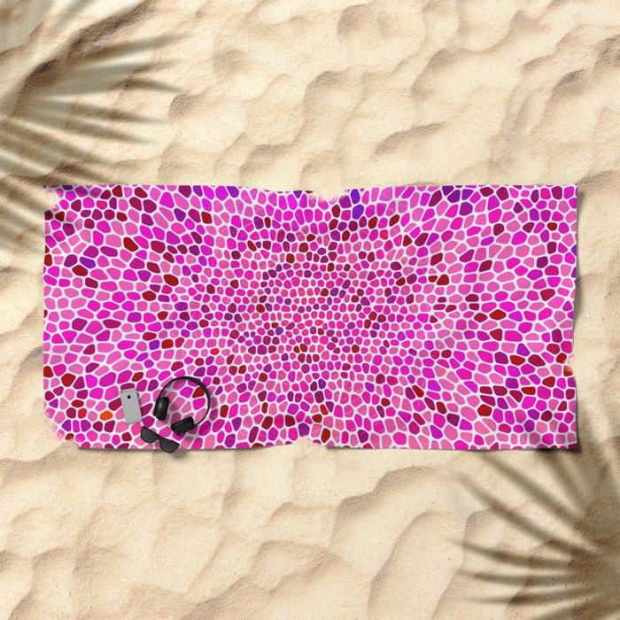 THINK PINK Beach Towel