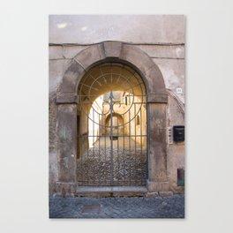 Door number thirty-nine Canvas Print