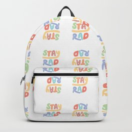 Stay Rad colors Backpack