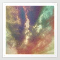 Cloud Art Art Print