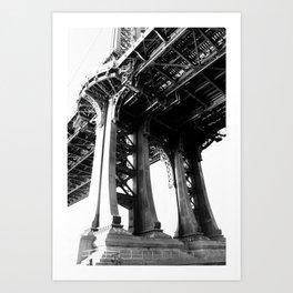 Manhattan Bridge 2 Art Print
