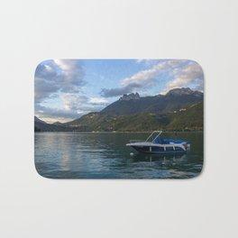 Boat Lake Annecy Bath Mat