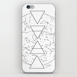 Celestial Alchemical Earth iPhone Skin
