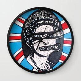 God Save | Pop Art Wall Clock