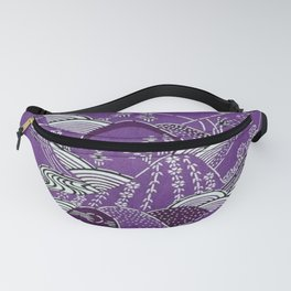 Japanese Mountains Fanny Pack