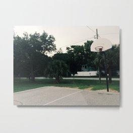 neighborhood court Metal Print