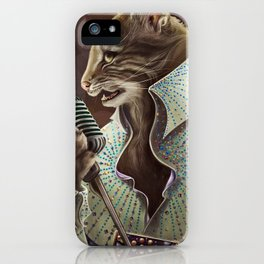 Elvis Petme iPhone Case
