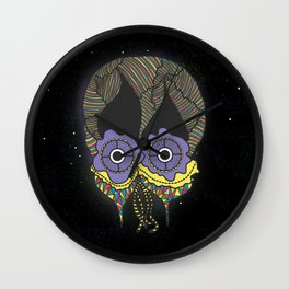 The mask we wear is one Wall Clock