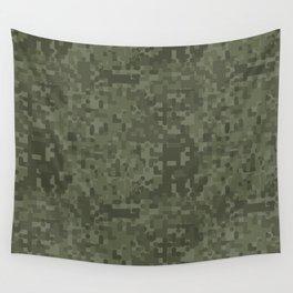 Digital Camo Wall Tapestry