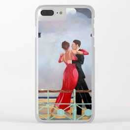 The Singing Butler in Brighton Clear iPhone Case
