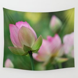 Lotus flowers Wall Tapestry
