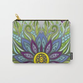 Peaceful Flower Carry-All Pouch