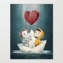 Finally Best Friends Canvas Print