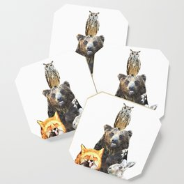Woodland Animal Friends Coaster