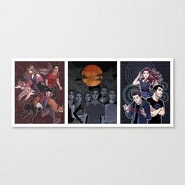 TW set Canvas Print