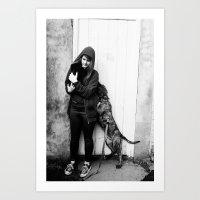 WeekendPortraitSeries: Ellen Disaster 1 Art Print