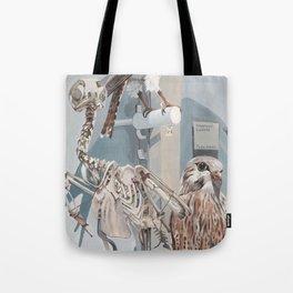 Peregrine Falcon And Kestrels Tote Bag