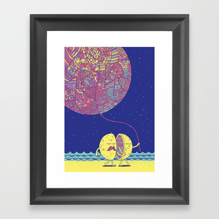 Better Half A Framed Art Print