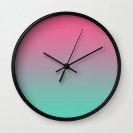 Retro Summer Vibes Wall Clock