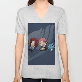 Chibi Friends Unisex V-Neck