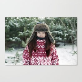 goodbye winter Canvas Print
