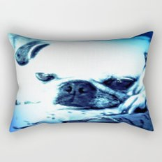 PUG LOVE ~ A Lovely Little Old Lady Rectangular Pillow