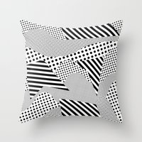 games Throw Pillows featuring Beach Games by Tyler Spangler